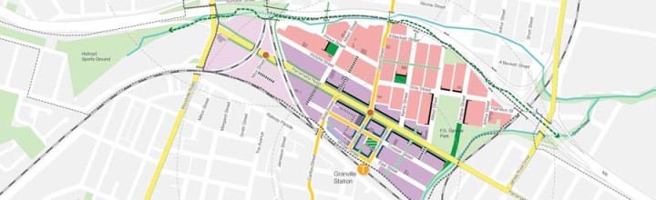 DEVELOPERS EYEING PARRAMATTA ROAD PLANS